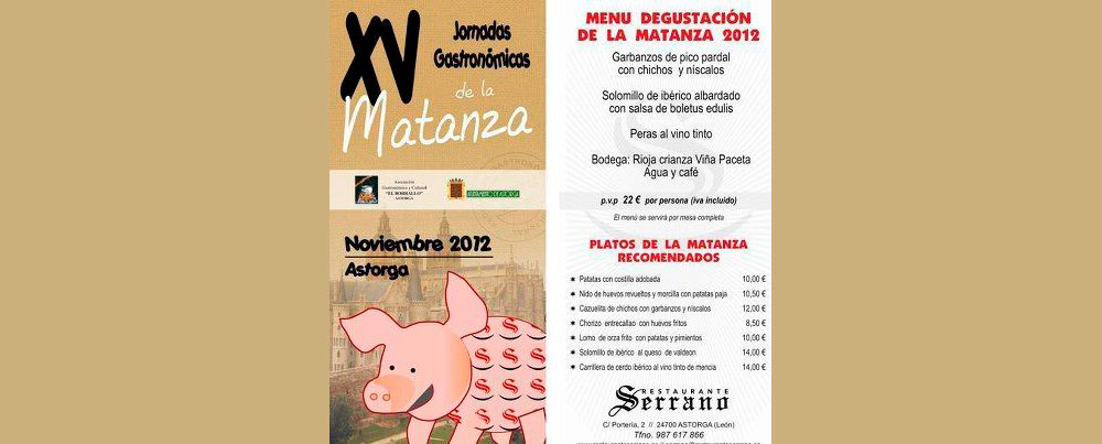 "XV Gastronomic journeys of the ""matanza"" 2013"